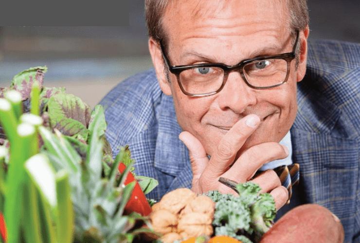 Alton Brown Talks Healthy Eating