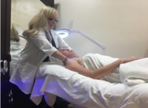 HydraFacial treatment at Anderson Aesthetics and Hair Restoration