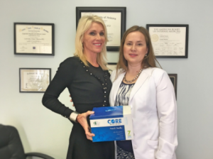 Candace with Dr. Neacsu