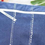 Wander wet bag in blue.