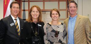 (L to R) Trey Sanders, Becky Shipley, Misty Lathem, Dr. Ross Brakeville