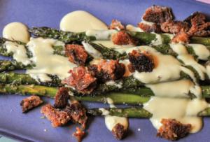 Hollandaise Asparagus by Recess at Krog Street Market