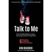 "Book cover, ""Talk to Me"" by Kim bearden."