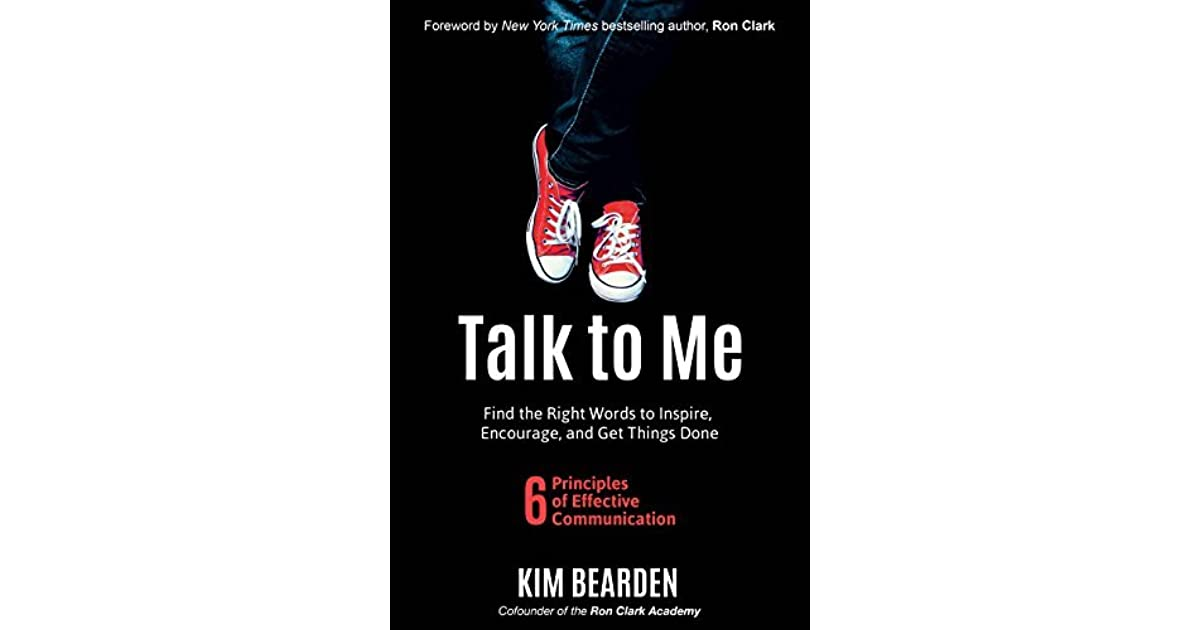 """Book cover, """"Talk to Me"""" by Kim bearden."""