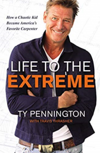 The cover of Ty Pennington's new book.