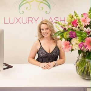 Paige Conner Owner of Luxury Lash Beauty.