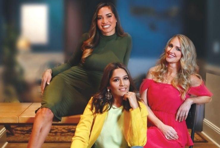 Best Self Atlanta Influencers Elle Ross, Meera Diwan, and Jessica Hughes