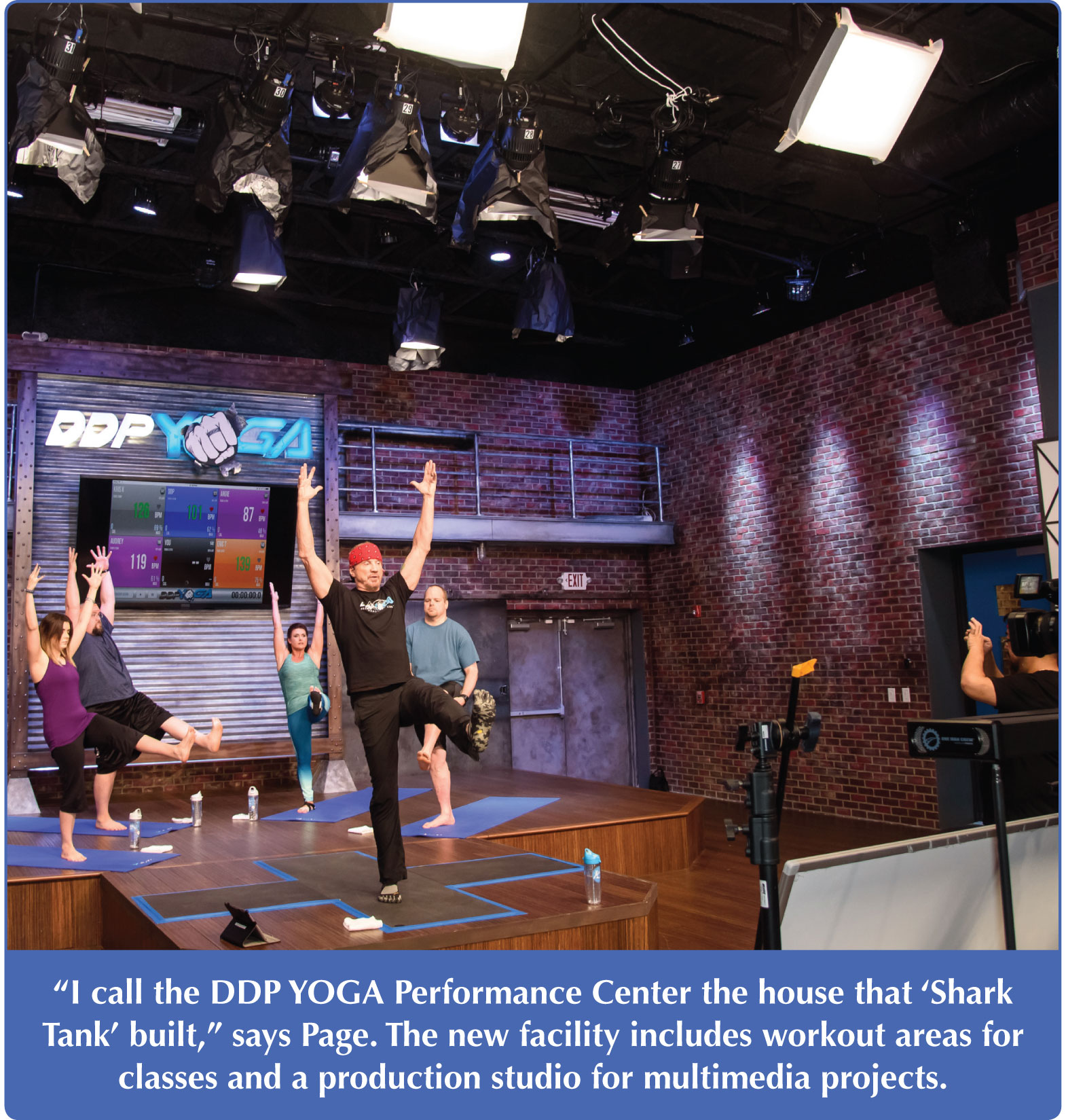 DDP Yoga performance center
