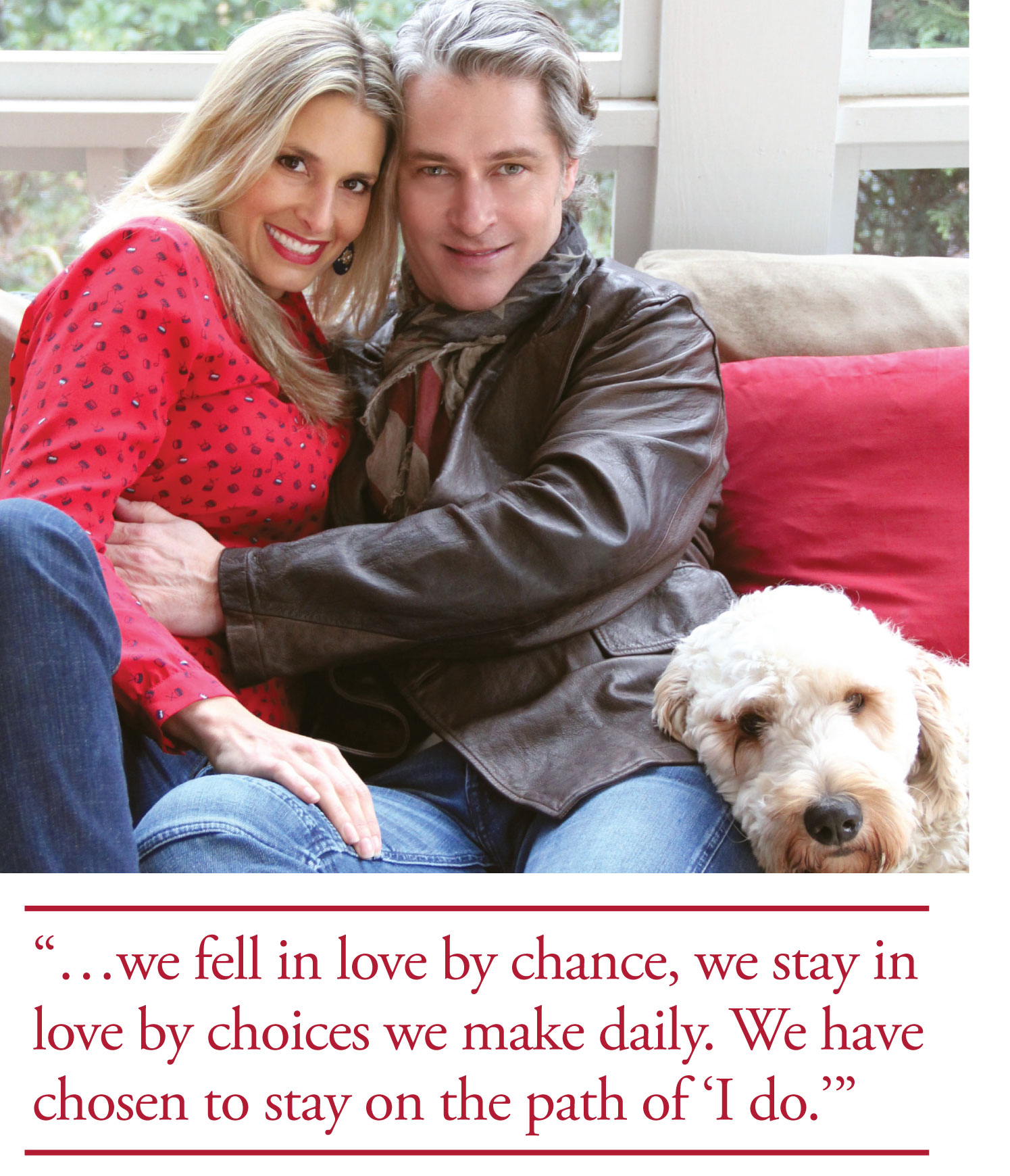 Ed Roland & Wife Michaeline