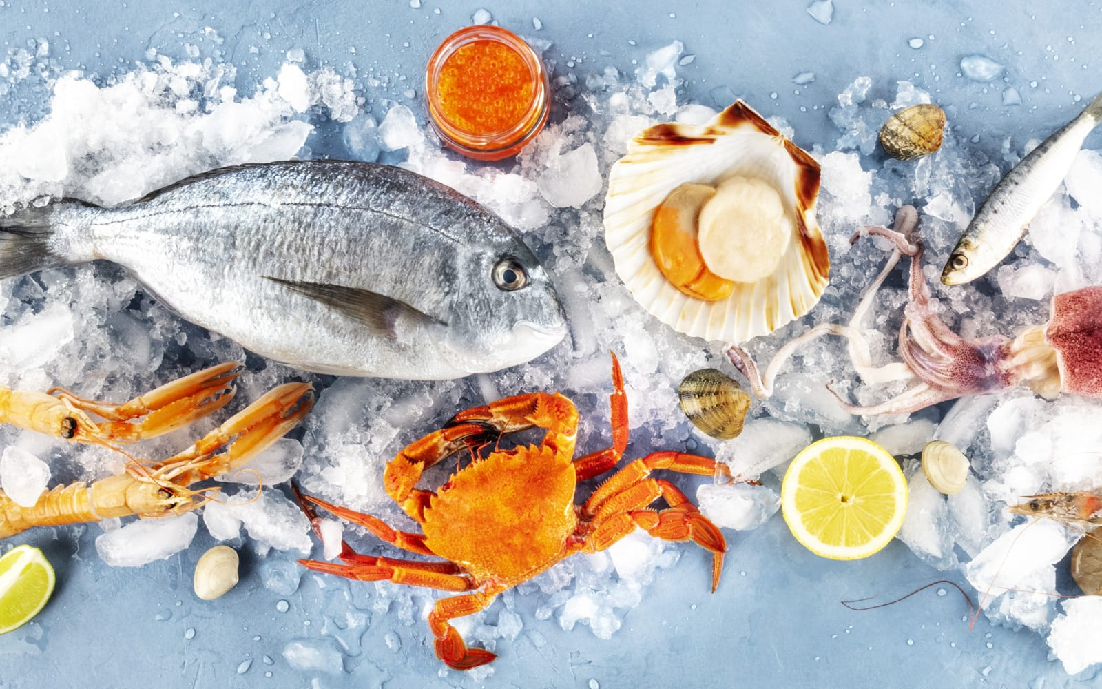 Seafood sourced with care