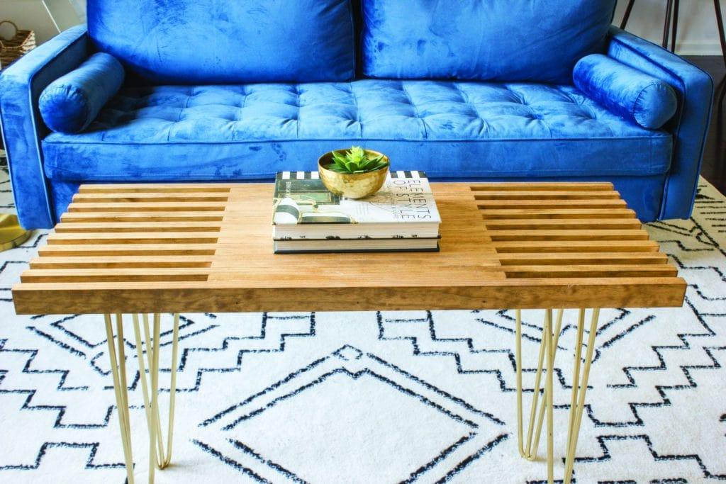 Erin Spain - DIY Coffee Table