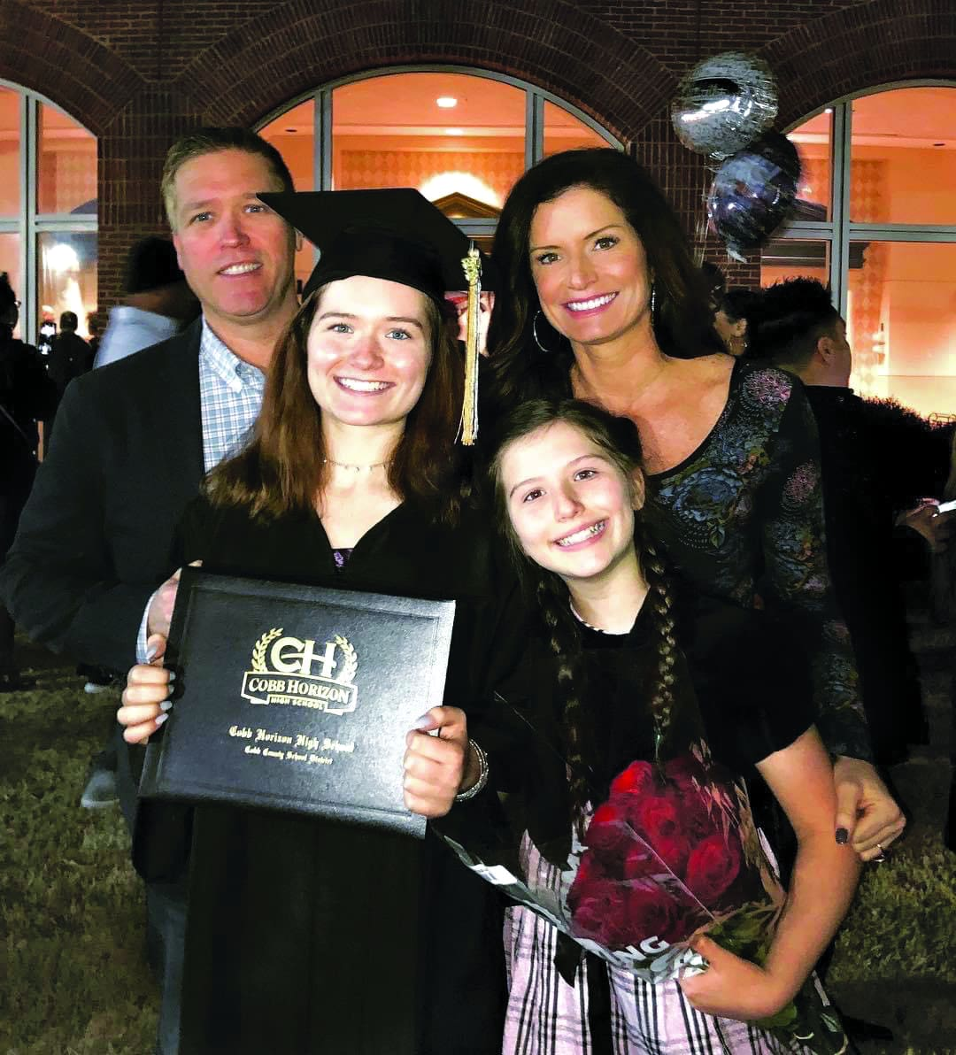 Kim Cooper with her Family