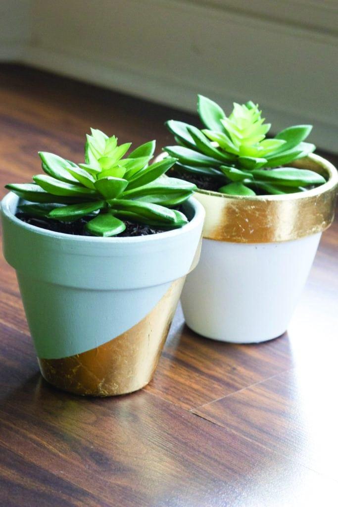 Erin Spain - Decorate a Flowerpot
