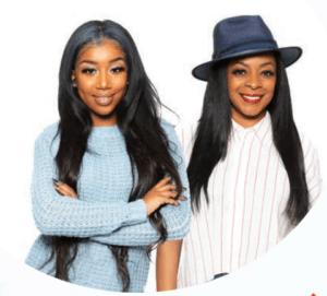 Raya Johnson and Alicia Igess Jones