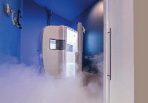 Machine at Icebox Cryotherapy