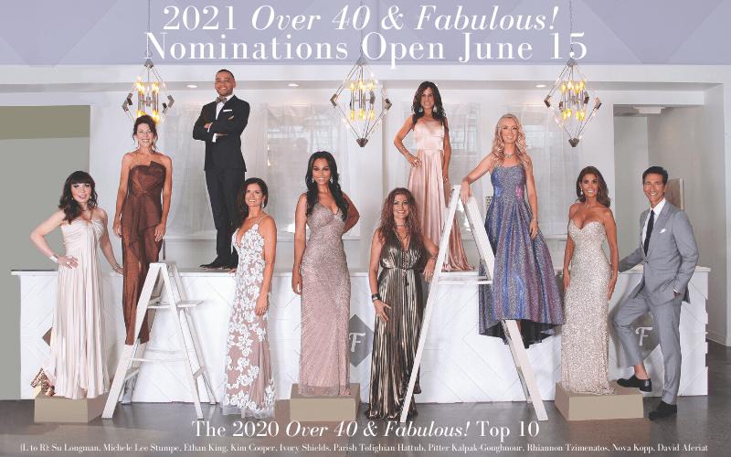 Over 40 & Fab 2020 Class