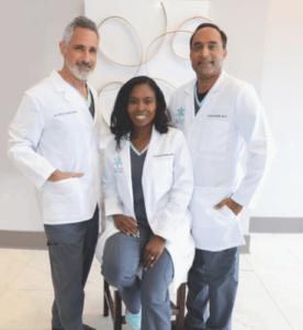 Dr. Steve Mercante, Theressa Thomas NP-C, Dr. Farhan Malik
