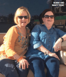 Nancy Brooks and Bobbie Pope