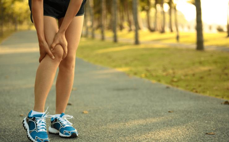 Chronic injury stock image